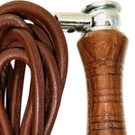 ROTOR WOODEN HANDLE & LEATHER SPORTS SKIPPING ROPE