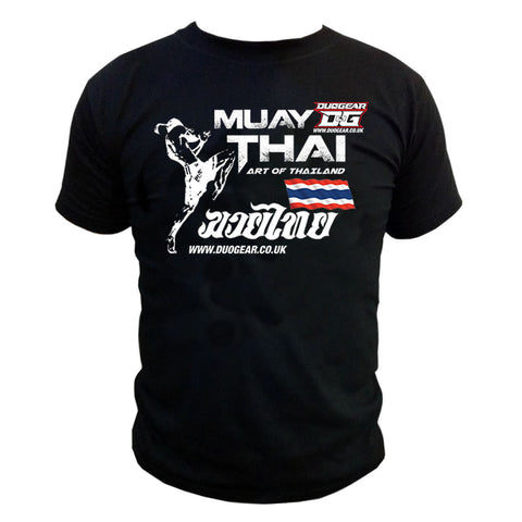BLACK ART MUAY THAI T-SHIRT
