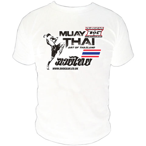 WHITE ART MUAY THAI T-SHIRT