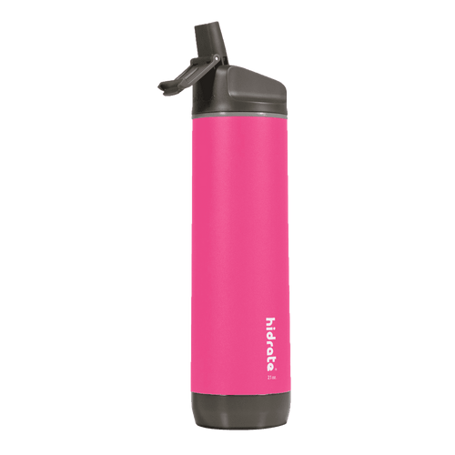 Hidrate SparkSteel water bottle in pink   Sparkwell Home, Wellness