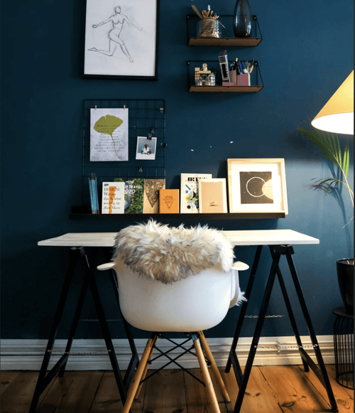 Small Home Office setup in a home