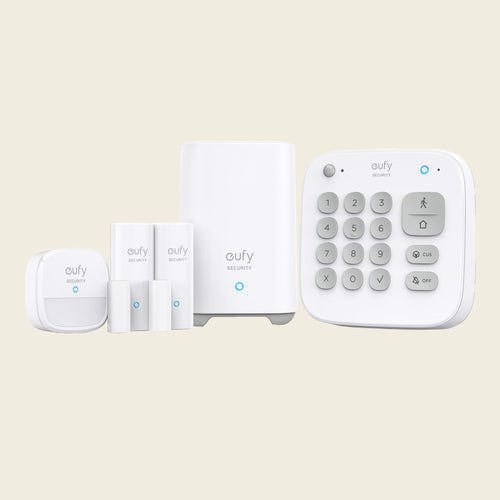 Eufy Home Security Kit - 5 pieces of home security from motion sensors, keypad, entry detection sensors for your home | Sparkwell Home - Home Security