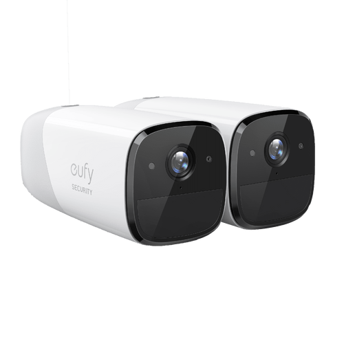 Eufy Cam 2   A duo of indoor security cameras for maximum placement and coverage around the house   Sparkwell Home, Home Security (Image without hub/bridge device)