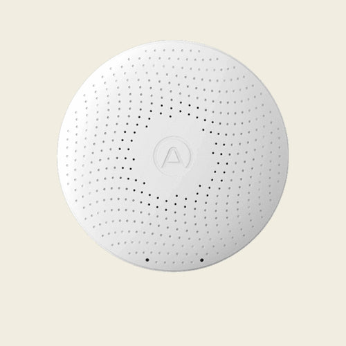 Airthings Wave Plus a smart indoor air quality monitor to place anywhere in your home