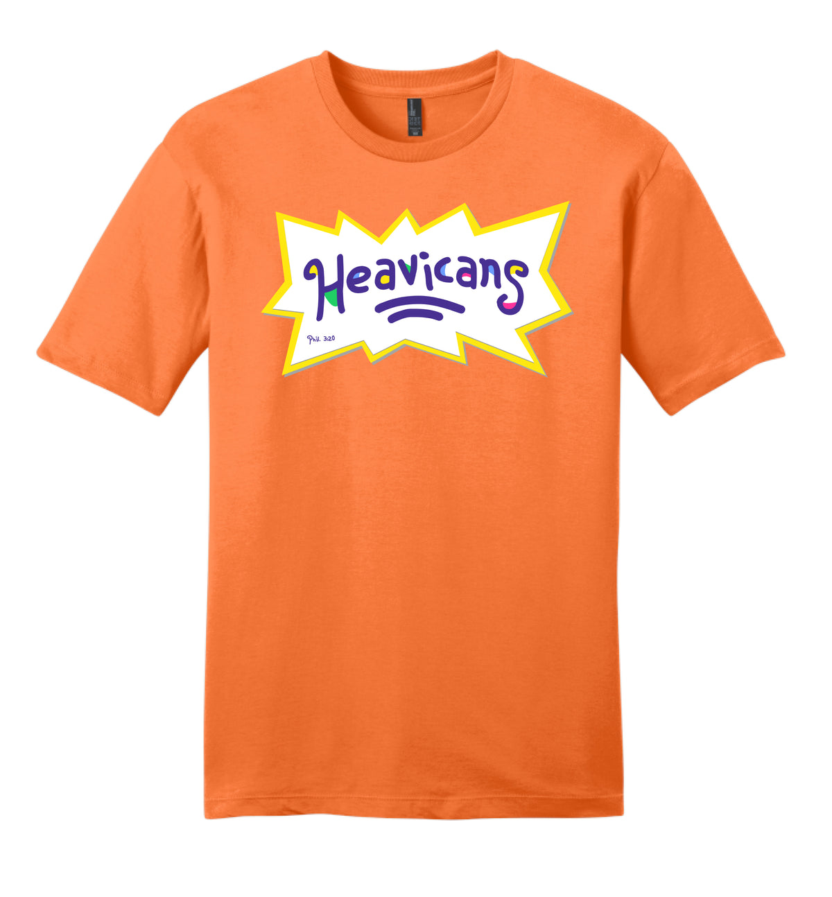 KIDS HEAVICANS THEME TEE