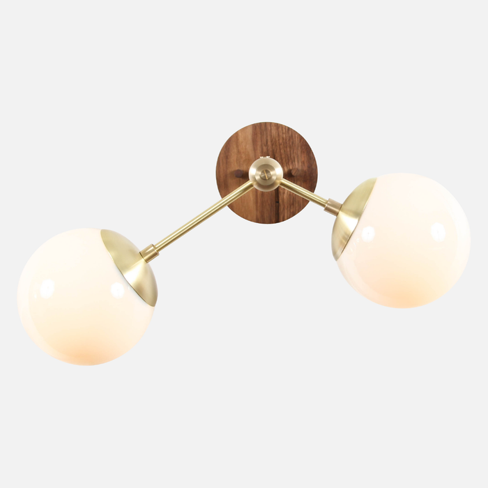Branch Sconce with Globes