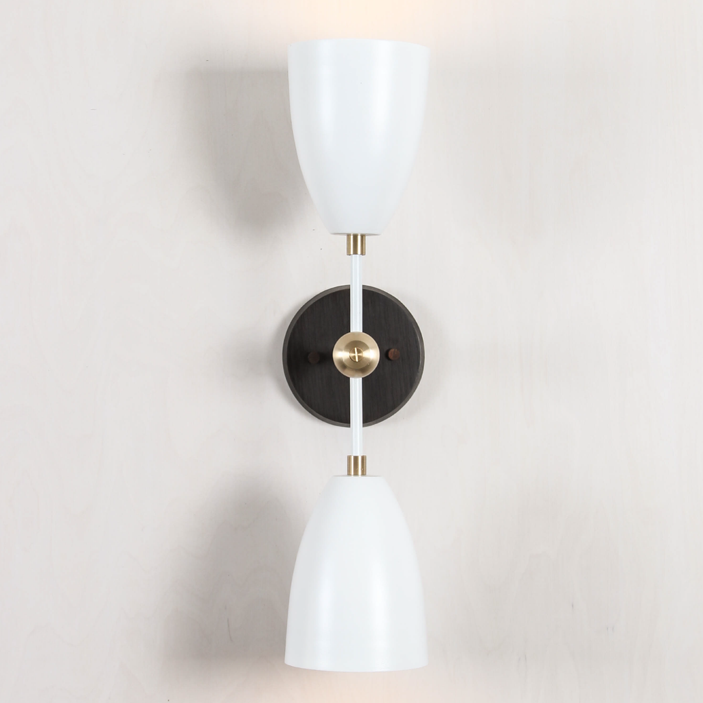 Double Cone Sconce
