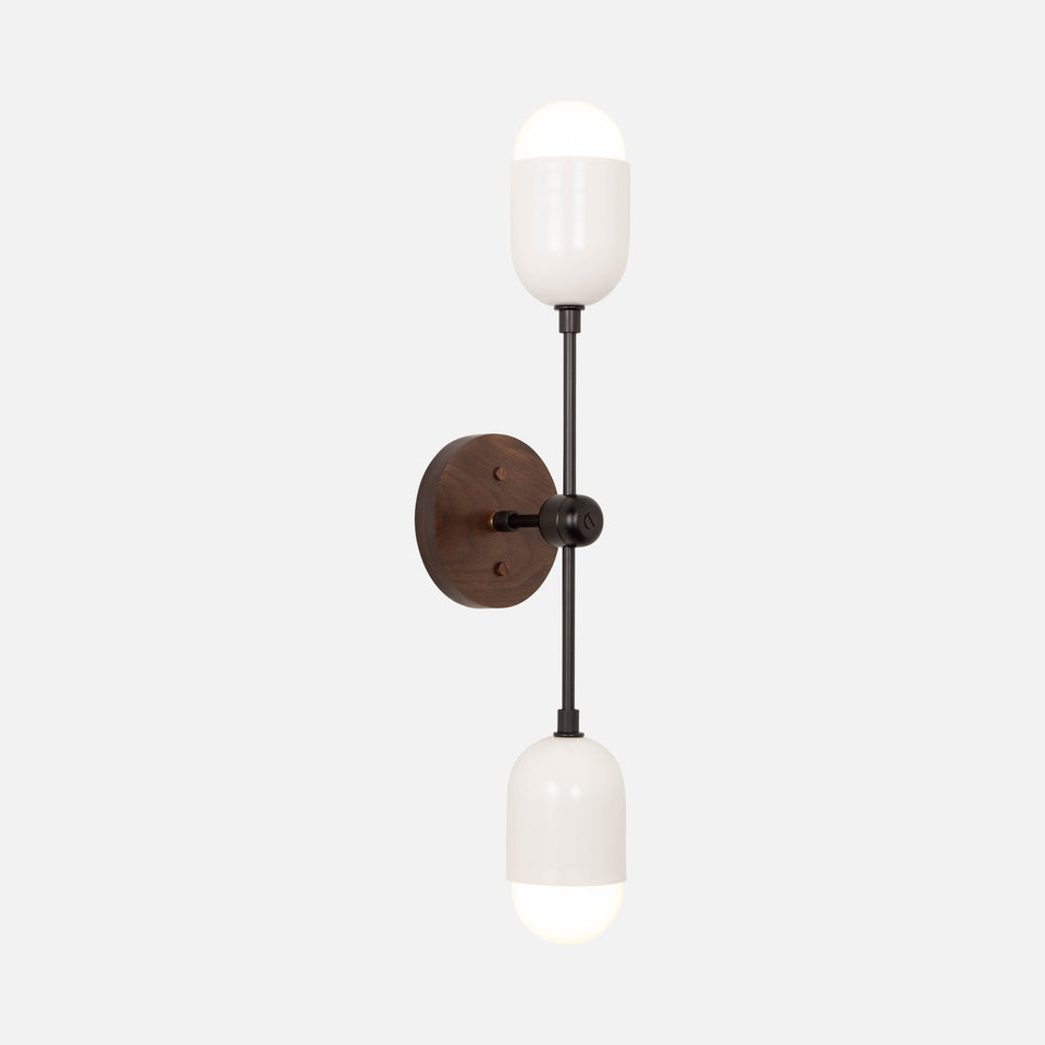 Pebble Double Sconce 20""