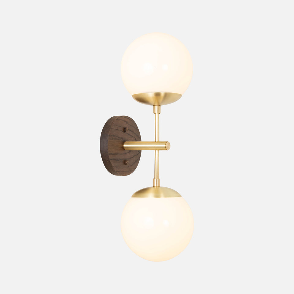 Charleston Double Sconce