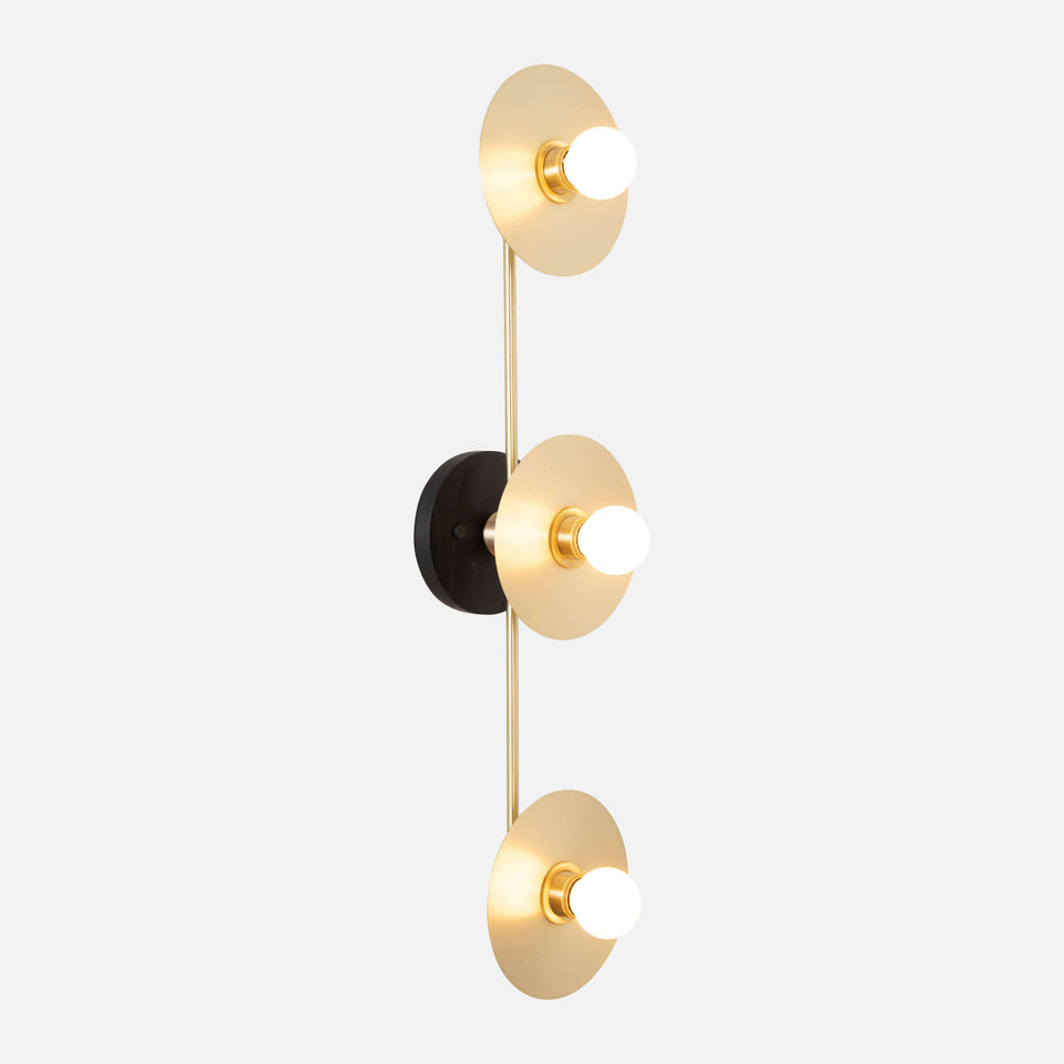Triple Galileo Sconce