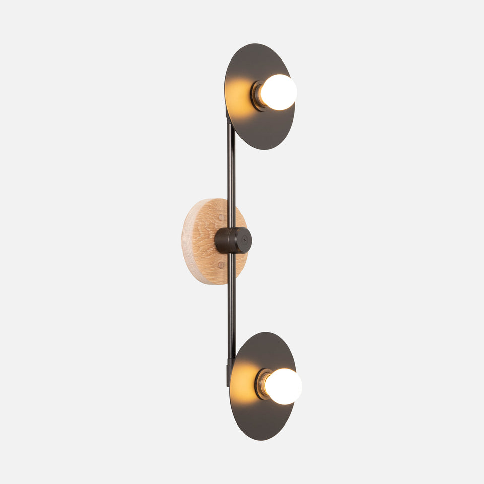 Double Galileo Sconce 22""