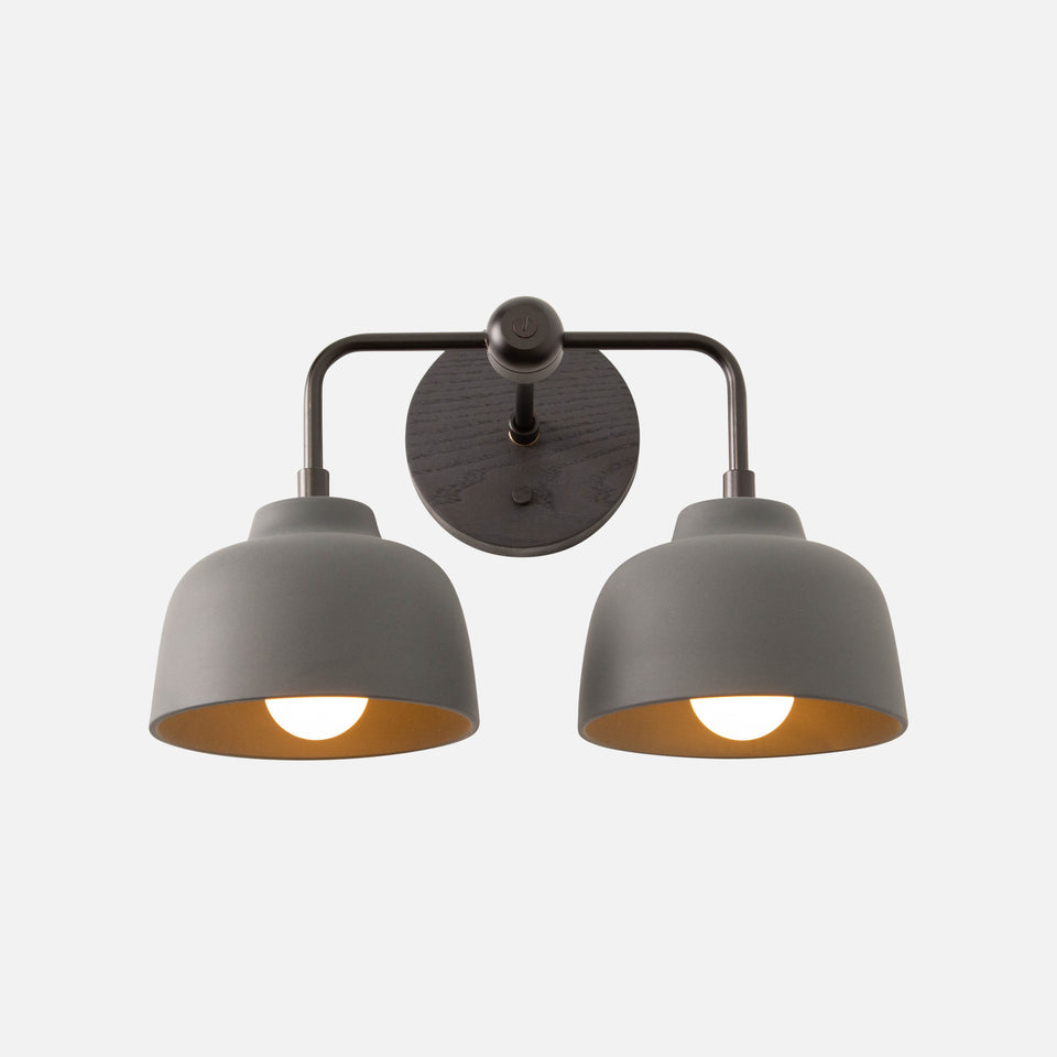 Tucker Double Sconce