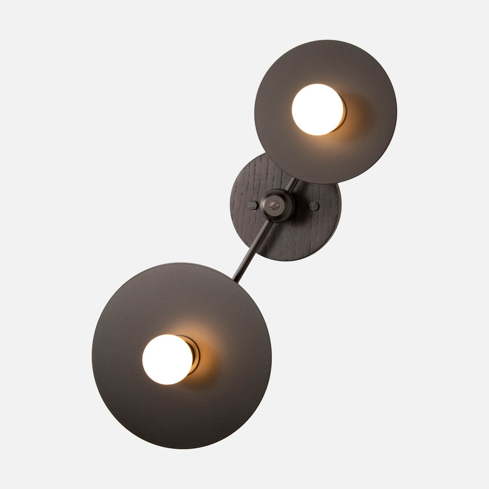 Double Galileo Sconce Asymmetrical