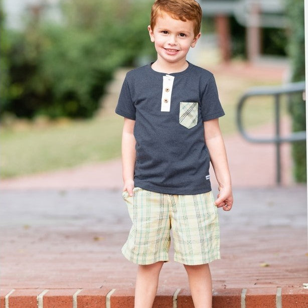 Finley Plaid Shorts