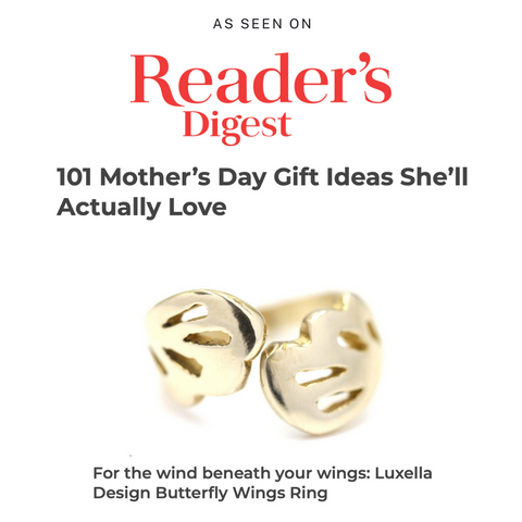 Reader's Digest: Luxella Design Butterfly ring a gift that your Mom will actually love