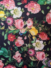 Load image into Gallery viewer, Floral Spandex Jersey Flares