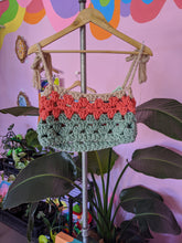 Load image into Gallery viewer, Crochet Cropped Top