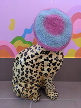 Load image into Gallery viewer, Multi-Coloured Crochet Beret