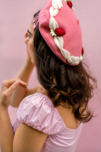 Load image into Gallery viewer, Pink Velvet Cake Beret