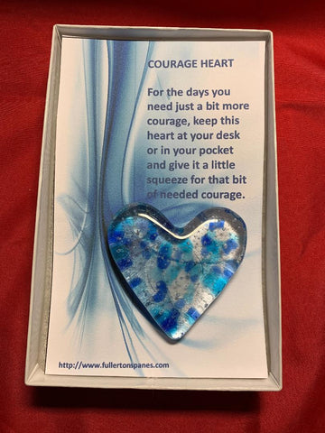 Courage Hearts .........perfect for our first responders
