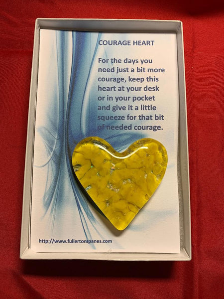 Courage Hearts .........perfect for our front line workers and responders