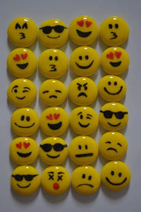 Smiley Faces emoji's magnets