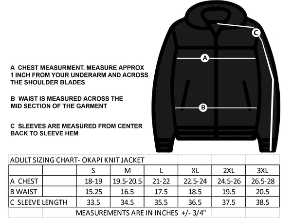ST. FRANCIS OF ASSISI STAFFWEAR- OKAPI KNIT JACKET