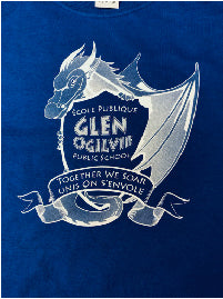 GLEN OGILVIE SPIRITWEAR- ADULT- GILDAN COTTON TEE