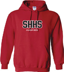SACRED HEART STAFF WEAR- TWILL- GILDAN COTTON HOODIE