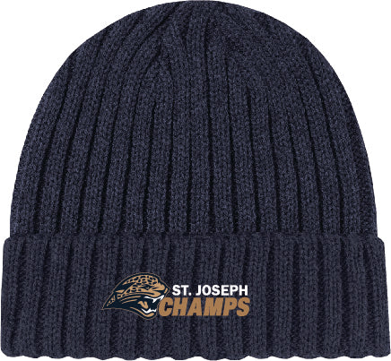 ST. JOSEPH FOOTBALL - CUFFED BEANIE TOQUE