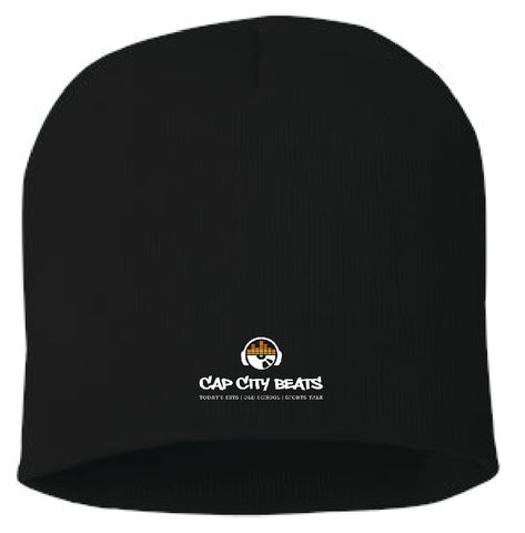 CAP CITY BEATS- KNIT BEANIE