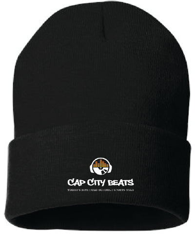 CAP CITY BEATS- CUFFED KNIT BEANIE