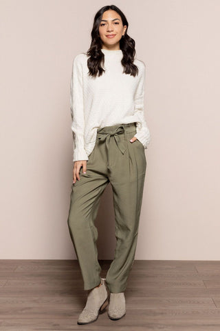 Toya Trousers in Olive
