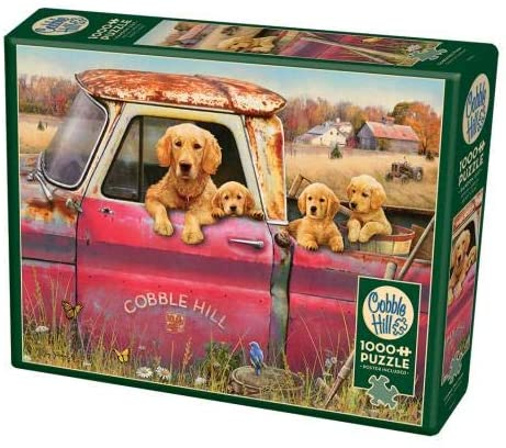 Cobble Hill 1000 Piece Jigsaw Puzzle - Cobble Hill Farm