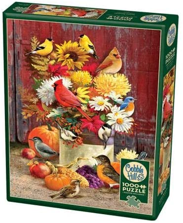 Cobble Hill 1000 Piece Jigsaw Puzzle - Autumn Bouquet