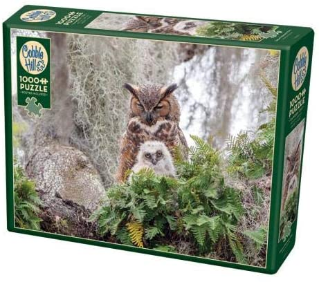 Cobble Hill 1000 Piece Jigsaw Puzzle - Great Horned Owl
