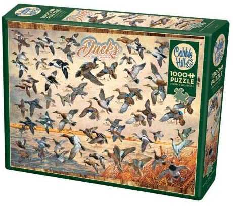Cobble Hill 1000 Piece Jigsaw Puzzle - Ducks of North America