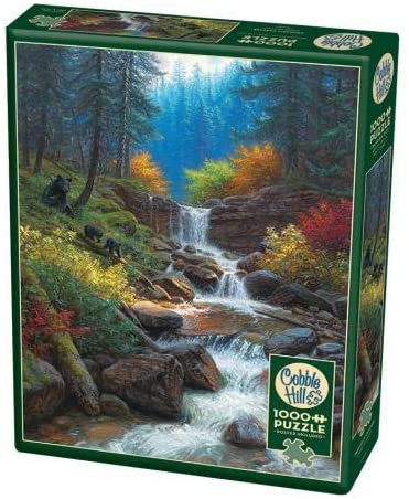 Cobble Hill 1000 Piece Jigsaw Puzzle - Mountain Cascade