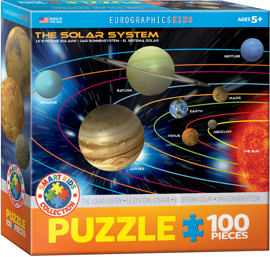 Eurographics 100 Piece Jigsaw Puzzle - The Solar System