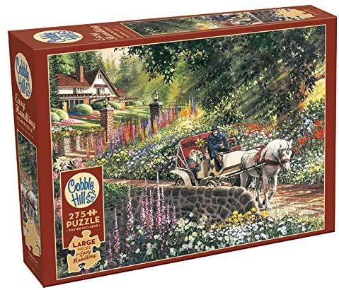 Cobble Hill 275 Extra Large Piece Jigsaw Puzzle - Carriage Ride