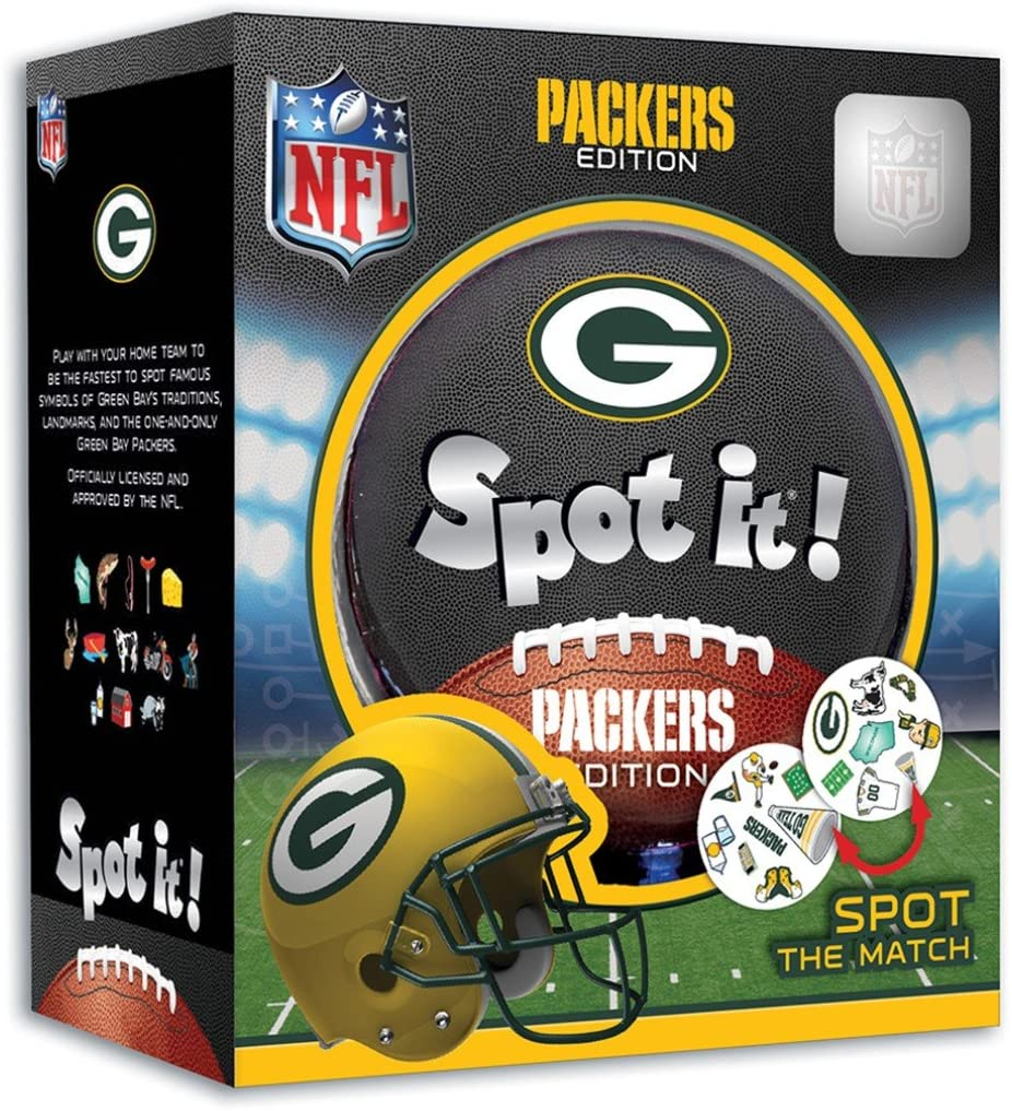 Spot It - Green Bay Packer Edition