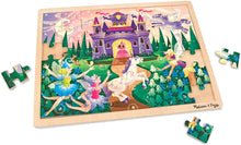 Load image into Gallery viewer, Melissa and Doug 48 Piece Wooden Tray Jigsaw Puzzle - Fairy Fantasy