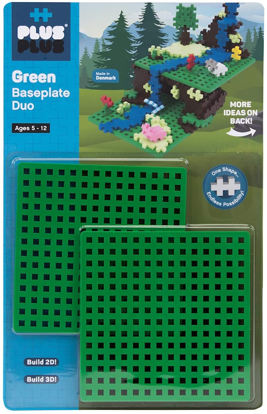 Plus Plus Green Baseplate