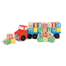 Load image into Gallery viewer, Melissa and Doug Alphabet Truck