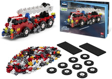 Load image into Gallery viewer, Plus Plus Go! 360 Piece Fire Truck Model Kit