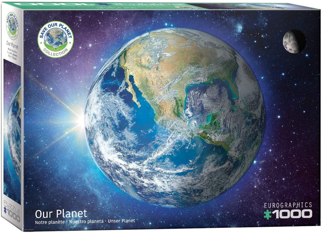 Eurographics 1000 Piece Jigsaw Puzzle - Our Planet