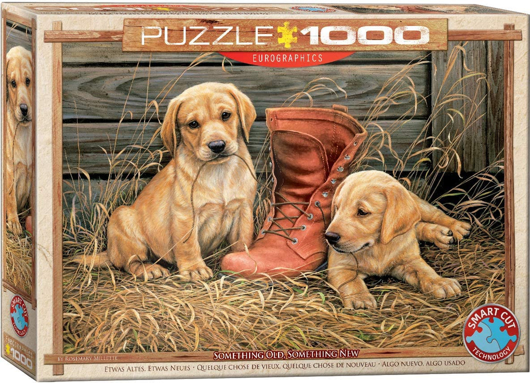 Eurographics 1000 Piece Jigsaw Puzzle - Something Old Something New