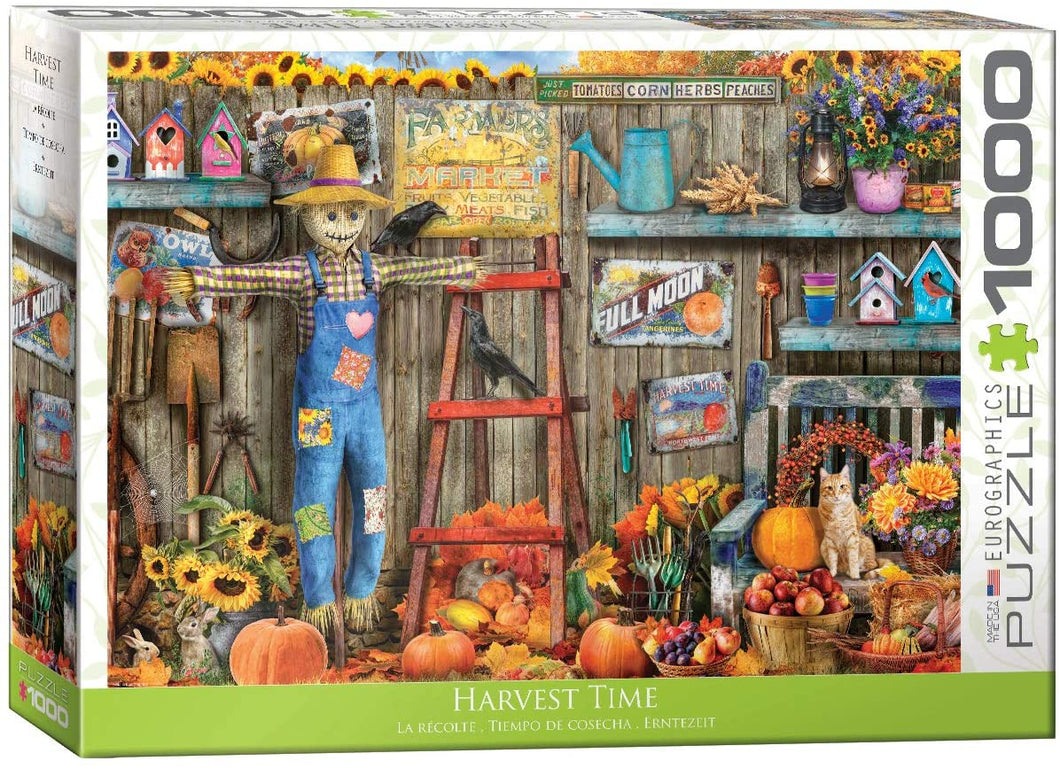 Eurographics 1000 Piece Jigsaw Puzzle - Harvest Time