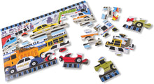 Load image into Gallery viewer, Melissa and Doug 24 Piece Floor Puzzle - Traffic Jam