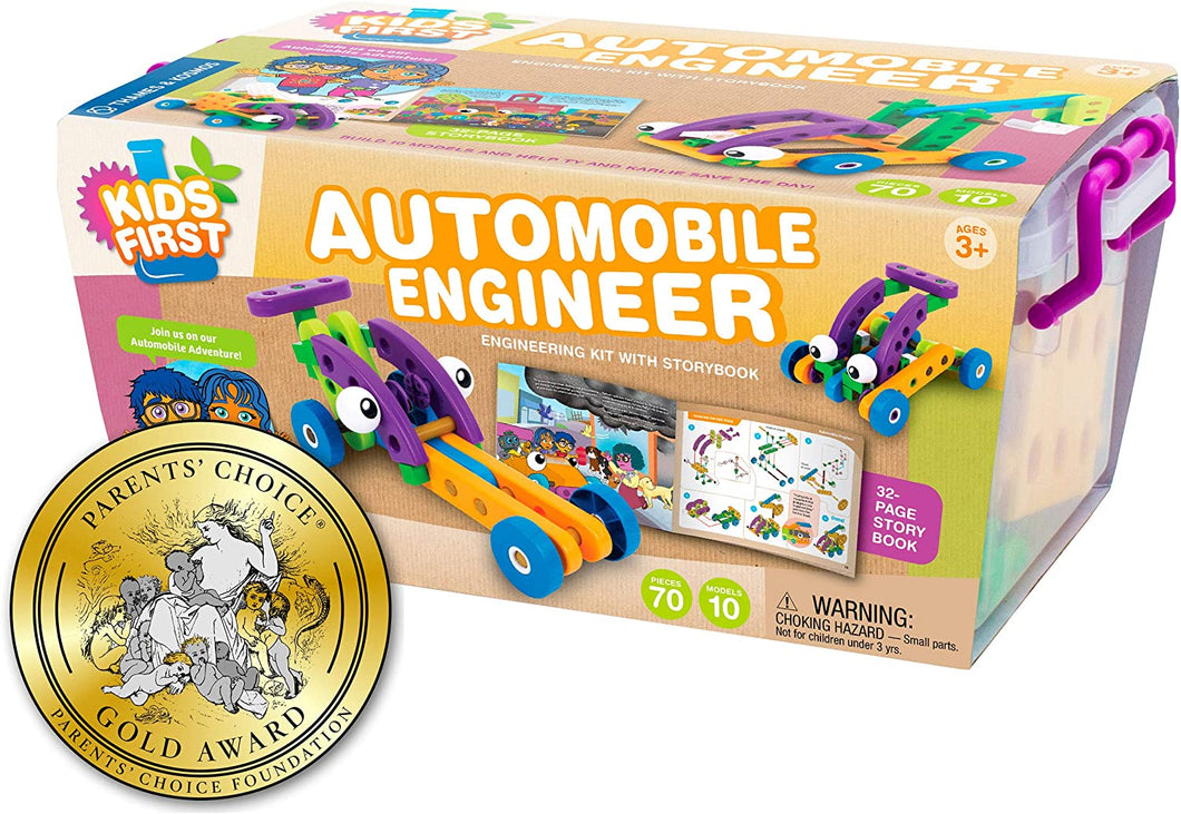 Kid's First Automobile Engineer
